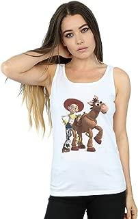 Disney Women's Toy Story 4 Jessie and Bullseye Tank Top