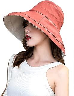 Jueshanzj Women's Wide Brim Cotton Sun Hat