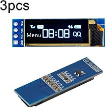 OLED Display Module SSD1306 Chip 0.04W 0.96 inch/0.91 inch 128x64 Pixels for Msp420 Arduino Display Raspberry - 0.91inch(3PC) / Blue