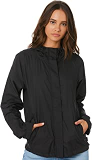 Swell Women's Charlotte Windbreaker Nylon Black