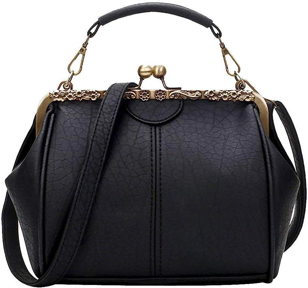 1920s Style Purses, Flapper Bags, Handbags Donalworld Women Retro Hollow out PU Leather Handbag  AT vintagedancer.com