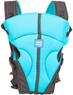 Mee Mee Light Weight Baby Carrier (Lightweight Breathable, Sky Blue)