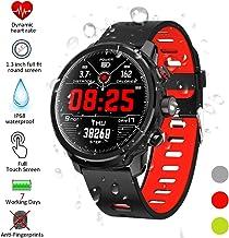 Padgene Smartwatch, Reloj Inteligente IP68 Impermeable Bluetooth SmartWatch con Múltiples Modos de Deportes, Fitness Tracker, Monitor de Dormir, Notificación de Llamada y Mensaje para Android e iOS