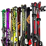 Auledio Ski Storage Rack, Snowboard Holder Wall Mount Shelves, Home and Garage Storage Hanger(3 Pack)