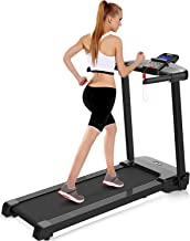 Merax Electric Treadmill Space Saver Fitness Running Machine with LCD Display and Bulit-in Programs