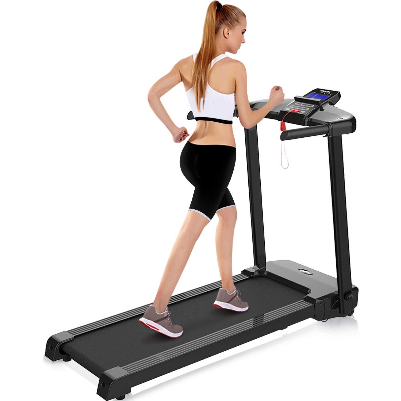 Merax Folding Treadmill Assembly Compact