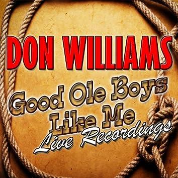 Good Ole Boys Like Me: Live Recordings