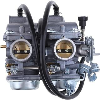 Flameer High Performance Carburetor Dual Carb Fit for Honda Rebel CA CMX 250 C CMX250/CA250