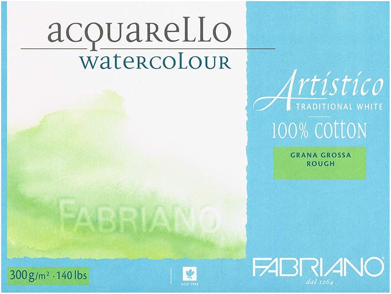 Fabriano 30024561 Aquarellpapier, Baumwolle, Baumwolle, Baumwolle, weiß, 45.5 x 61 x 0.5 cm B0052MGPFA | Internationale Wahl  535aa2