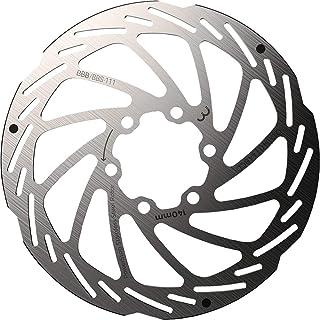 BBB ディスクローター 自転車ブレーキパーツ POWERSTOP(パワーストップ) ディスクブレーキローター ステンレス製 6穴 取付けボルト付属 シルバー