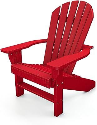 Frog Furnishings Seaside Chair, Red