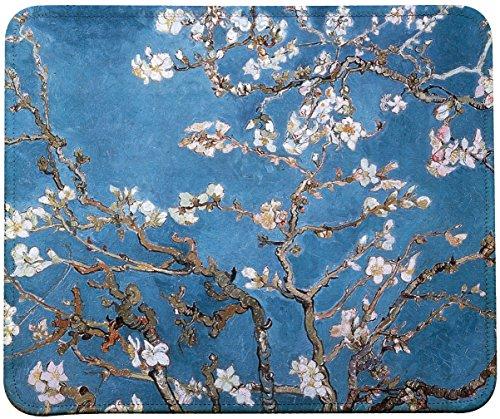 Vincent Van Gogh Impressionist Art Mouse Pad (Almond Blossoms)
