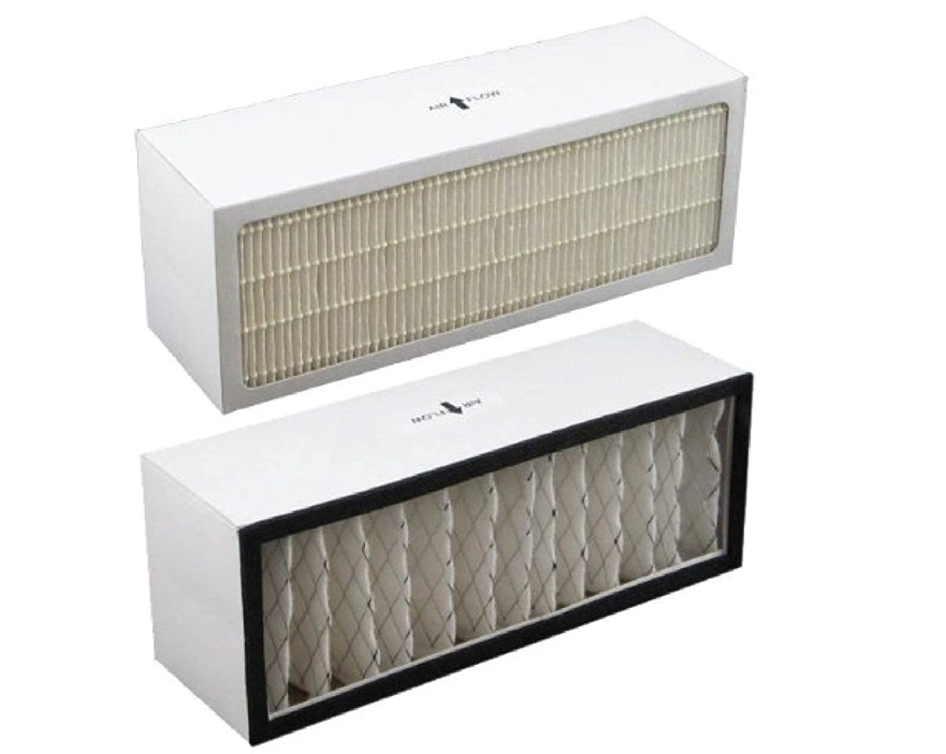 Replacement Filter A1001B to fit Bionaire models LC1060 & LE1160 Air Cleaner Dual Filter Cartridge by LifeSupplyUSA