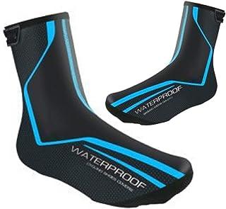 Honeyhouse Grotere waterdichte fietsschoenhoes, EU 11-12, winter racefietsoverschoenen, thermische warme schoenbedekking v...