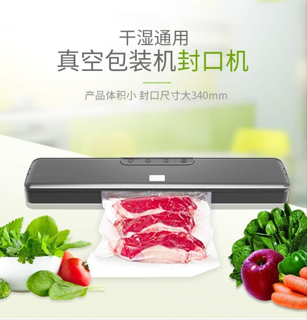 Mini automatische levensmiddelen vleeskorrels vloeibare vruchten tabel plastic vacuümzakken verzegeling verwarming verzegeling vacuümverpakking Eén maat EU-stekker. Uk Plug