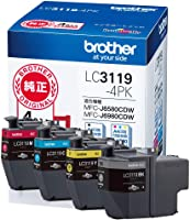 Brother 工业 【brother正品】墨盒4色装(大容量) LC3119-4PK 适用型号:MFC-J6983CDW、MFC-J6583CDW、MFC-J5630CDW 其它