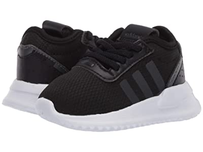adidas Originals Kids U_Path X EL (Infant/Toddler) (Black/Night Metallic/White) Kids Shoes