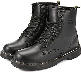 7f1b332988 Martin Boots Invierno Zapatos Botines, gracosy Mujer Unisex Botas Zapatos  Invierno Impermeable Martin Botas de