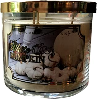 Everyday Luxe White Pumpkin Scented 3 Wick Large Candle