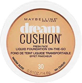Maybelline New York Dream Cushion Fresh Face Liquid Foundation, Warm Nude, 0.51 Ounce