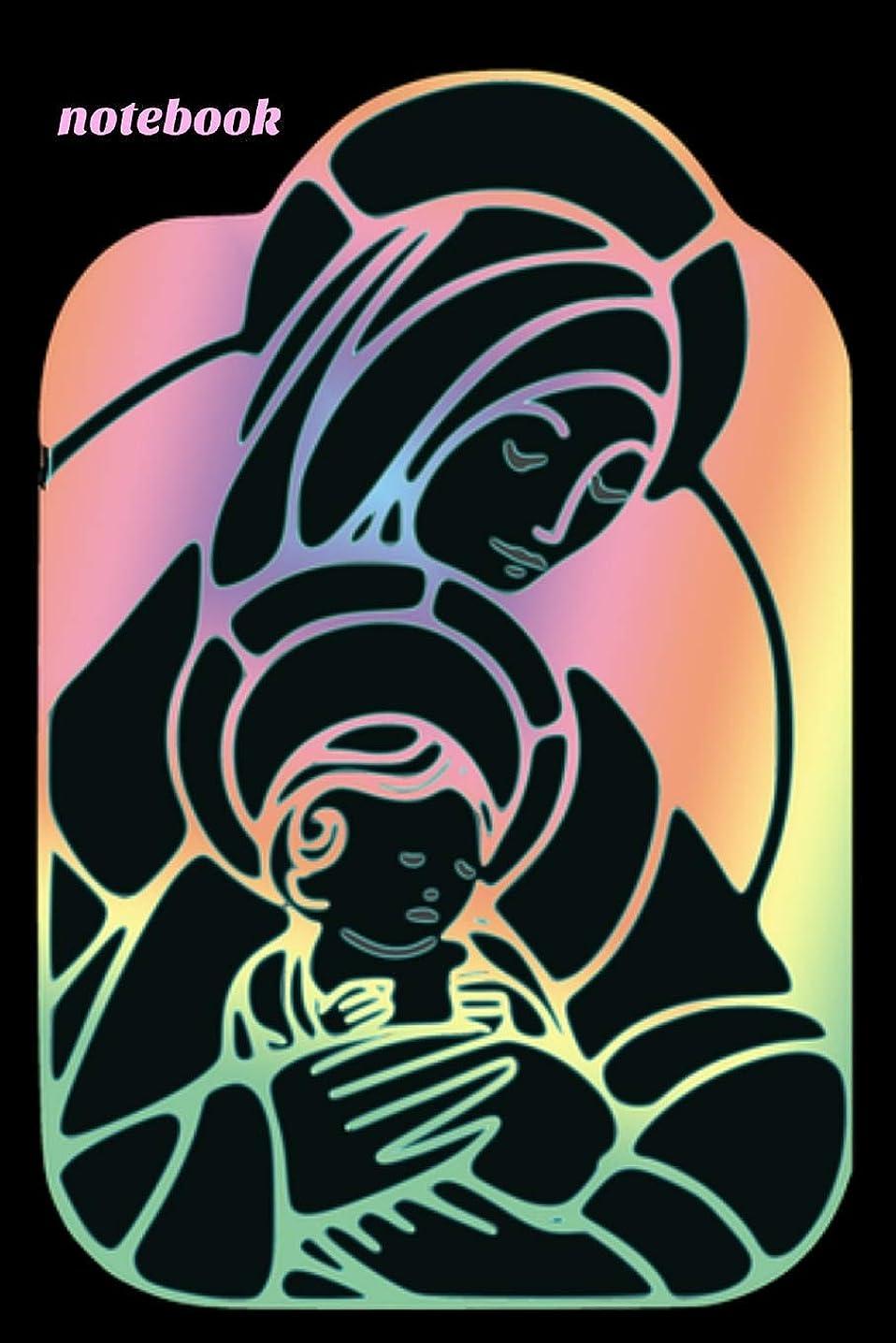 シャーロットブロンテ乞食金銭的なNotebook: Our Lady Of Guadalupe Virgin  Mary Book Notepad Notebook Composition and Journal Gratitude Diary