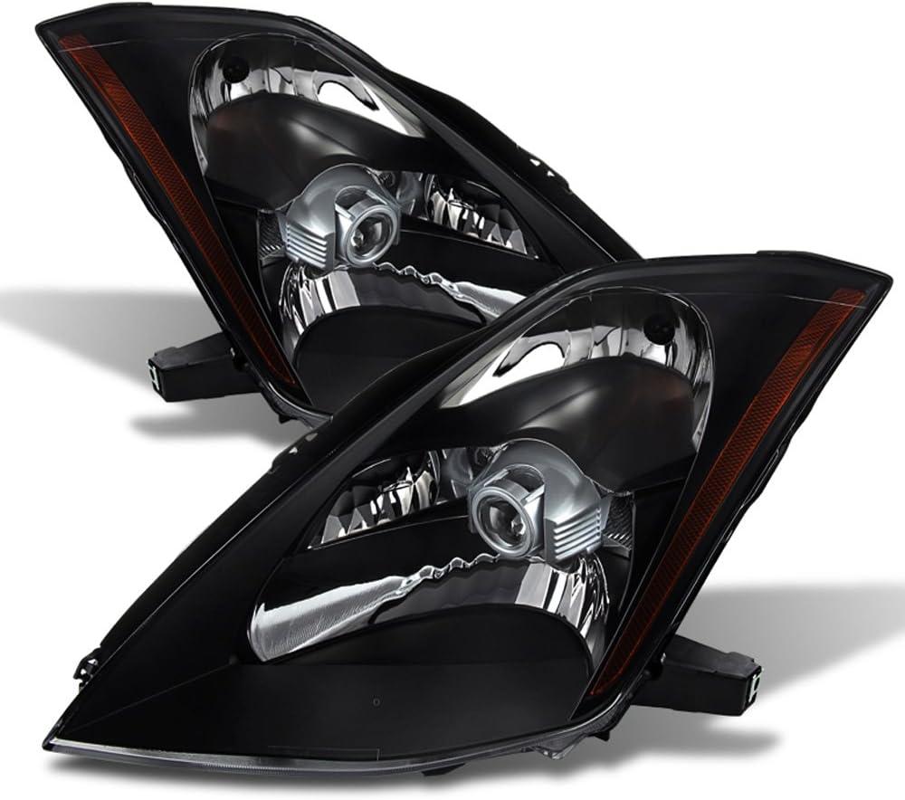Sales for Max 65% OFF sale ACANII - For Black Headlamps 2003 2005 Nissan Fair Z33 2004 350Z