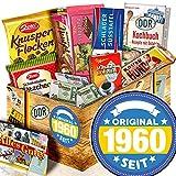 Original seit 1960 + Geschenke 60 Geburtstag Männer + Ossi Paket Schokolade