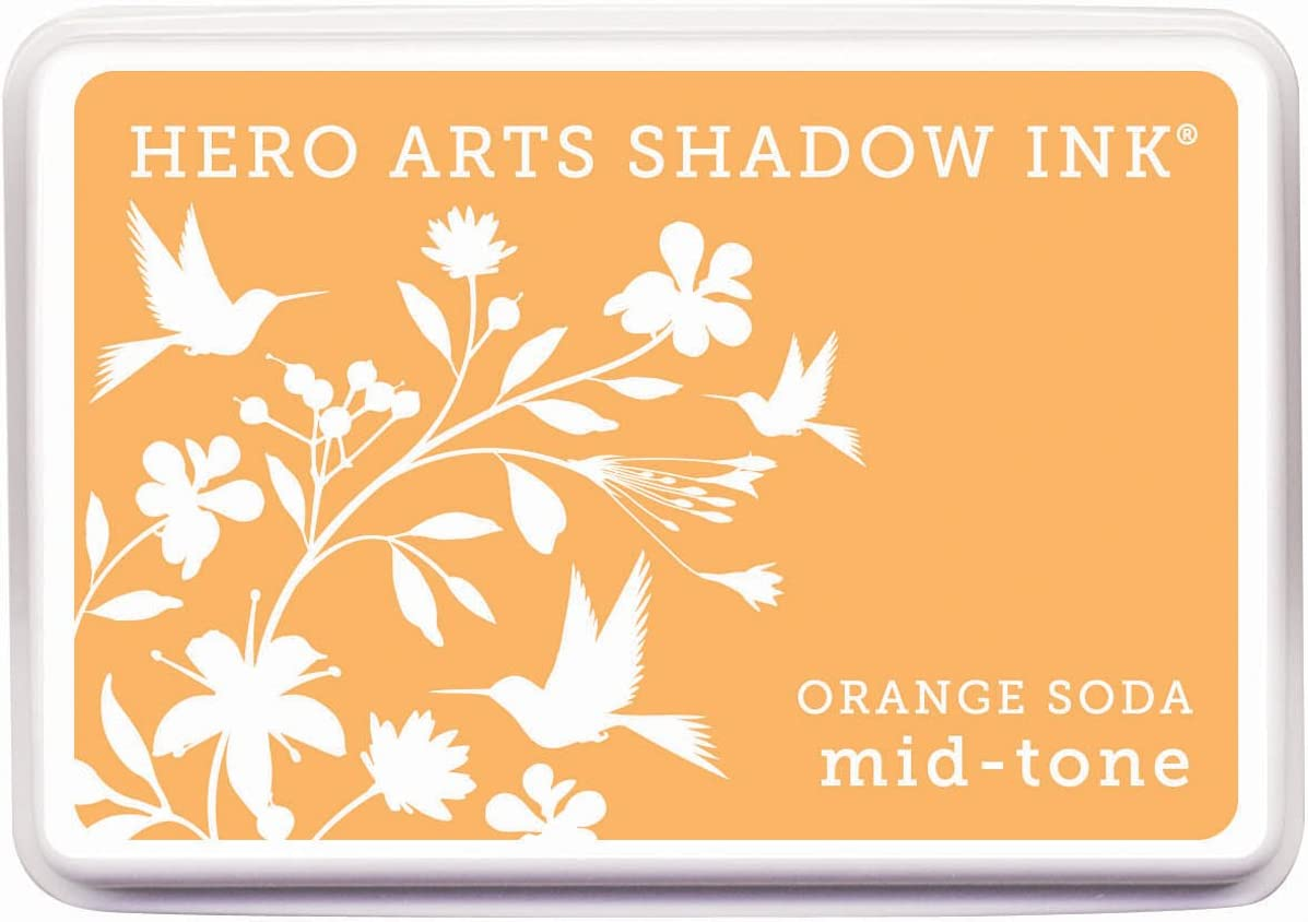 Hero Arts National uniform free shipping Rubber Stamps Outlet SALE Soda Mid-Tone Ink Pad Shadow Oran Stamp