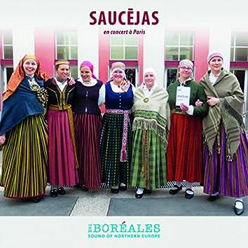 Saucejas en concert à Paris (Boréales): The Sound of Northern Europe