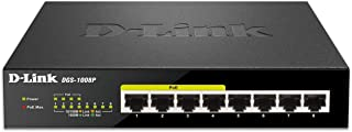 D-Link Gigabit Unmanaged Desktop or Rackmount Switch DGS-1008P