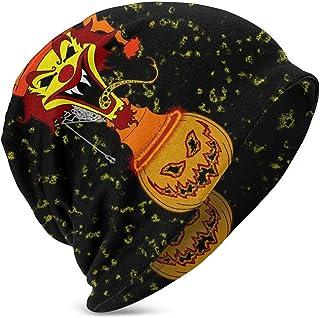 Hdadwy Beanie Hat Hatchetman ICP Logo Gorro de Punto Gorro de Calavera Fina con puños para niños y niñas Negro