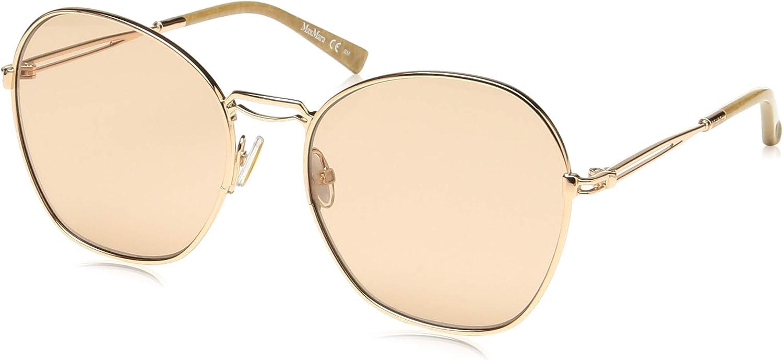 Max Mara MMBRIDGEIII DDB gold Copper MMBRIDGEIII Butterfly Sunglasses Lens Ca