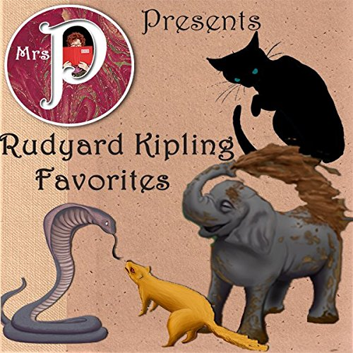 Mrs. P Presents Rudyard Kipling Favorites audiobook cover art