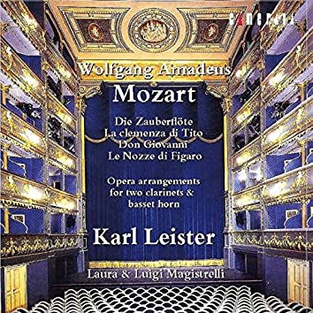 Mozart: Opera Arrangements for Two Clarinets and Basset Horn (Arr. for Two Clarinets and Basset Horn)