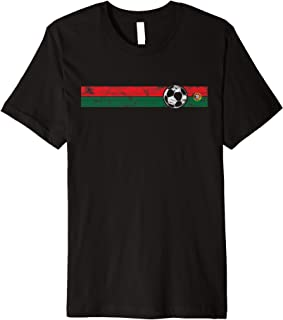 Portugal Soccer Flag T-Shirt Championship Football Cup Tee