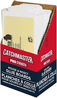 Catchmaster 75M Bulk Mouse and Insect Glue Boards, 75-Pack