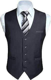 mens gray vest