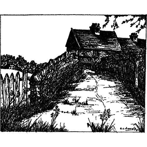 Azeeda A8 'Landhaus' Stempel (Unmontiert) (RS00017724)