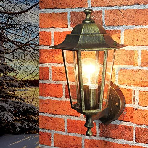 antico lampada paris / IP44 realizzato alluminio pressofuso/RUSTICO STILE / wettergeschützte Lampada da parete per esterno Cortile Giardino