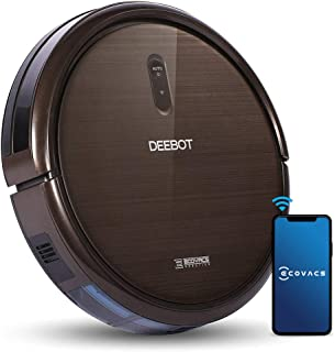 Ecovacs Robotics DEEBOT N79S Robot Vacuum Cleaner- High Suction with Beater Brush, Auto Self-Charging, Drop Sensor, Alexa ...