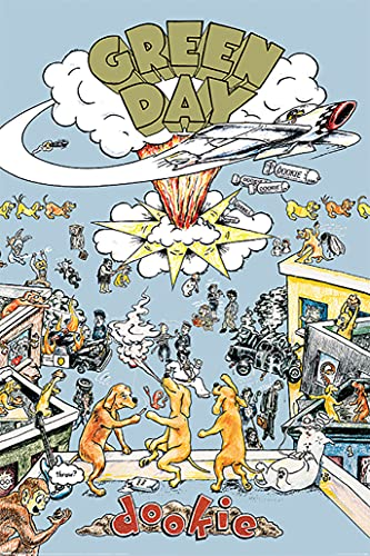 """Green Day - Music Poster (Dookie - Album Cover) (Size: 24"""" x 36"""")"""