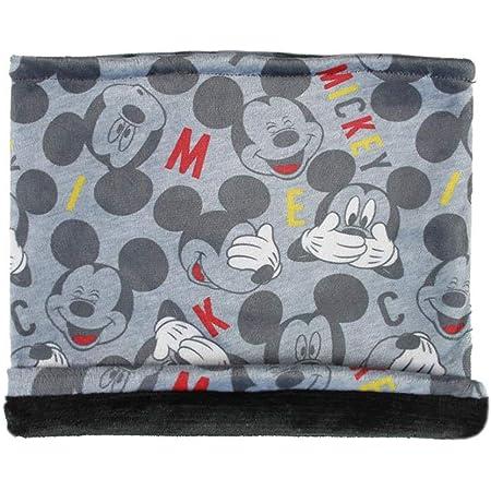 CERDÁ LIFE'S LITTLE MOMENTS Braga para El Cuello Infantil de Mickey-Licencia Oficial Disney Bufanda para clima frío, Gris, Talla única para Niños