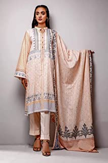 3-Piece Unstitched Lawn Suit CL-725A by Gul Ahmed