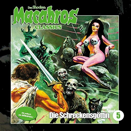 Page de couverture de Die Schreckensgöttin