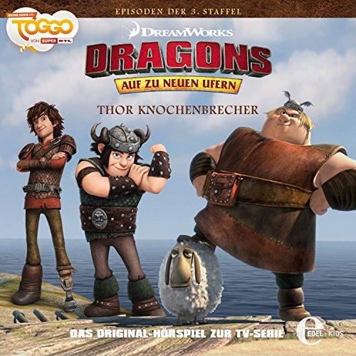 Thor Knochenbrecher (Dragons: Staffel 3 - Auf zu neuen Ufern 3) Titelbild