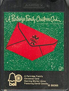 PARTRIDGE FAMILY: A Partridge Family Christmas Card 8 Track Tape