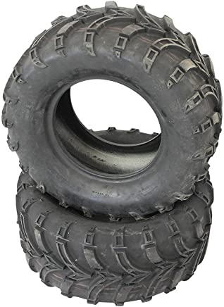 2 Neumáticos 25 X 10 – 12 Rueda para quad atv Buggy TL schlauchlos nuevo