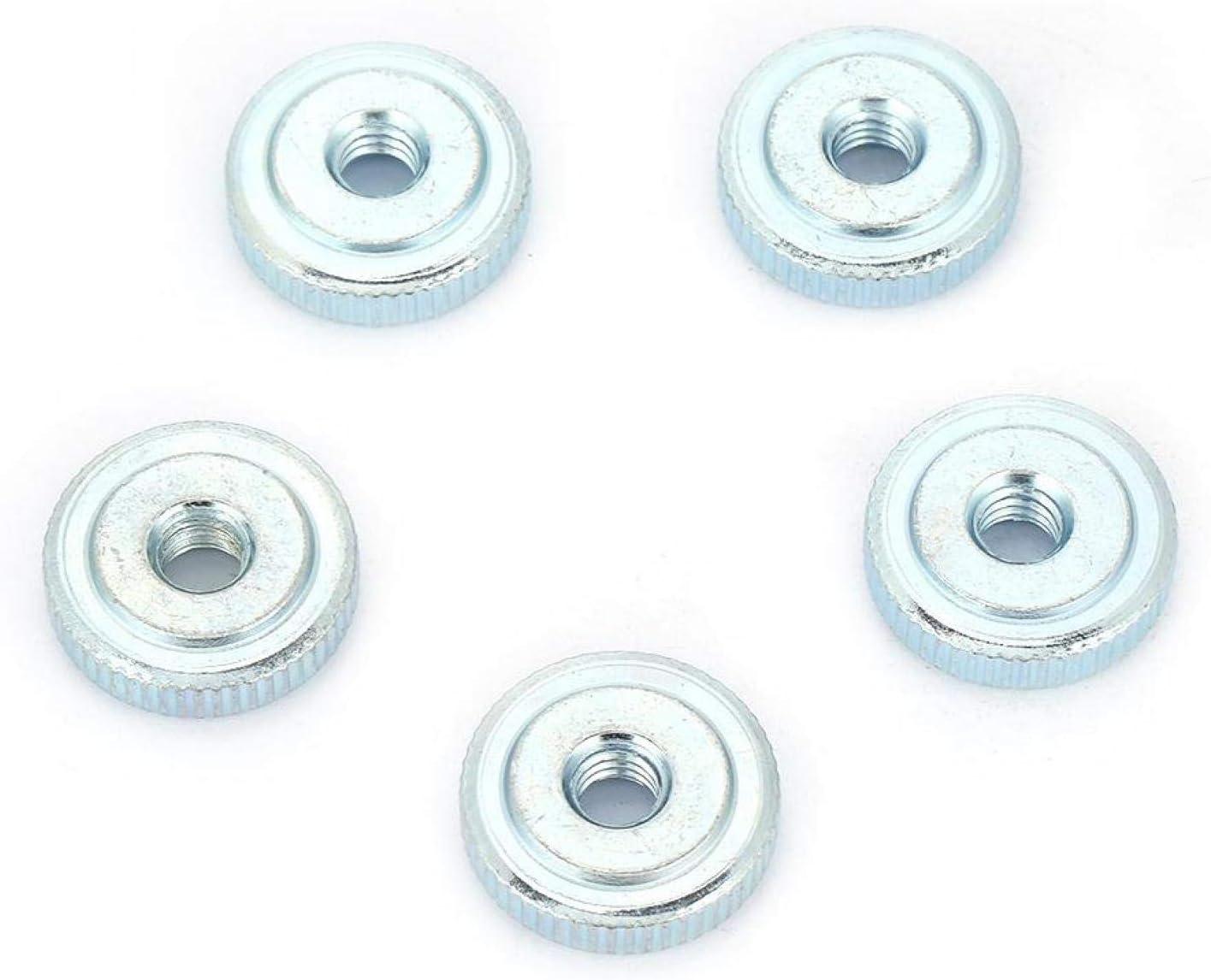 Knurled Thumb Nut 2021 model 10Pcs GB807 Zinc shipfree Carbon Plated Steel