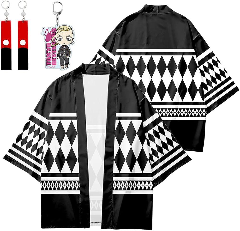 Tokyo Jacket Cosplay Ryuguji Ken Uniform T Jacksonville Mall Max 49% OFF with Cardigan Costume