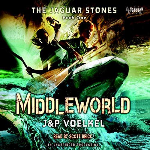 The Jaguar Stones audiobook cover art